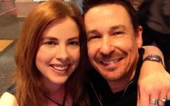 Heather Vale Goss and Steve G Jones NYNY