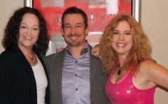 Shelby Collinge, Heather Vale Goss and Steve G Jones